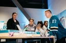 Sharks team up with The Tech for Innovation on Ice exhibit