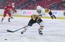 Pens recall Adam Johnson; send Riikola, Blandisi to AHL