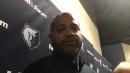 Grizzlies coach J.B. Bickerstaff evaluates Jevon Carter and Tyler Dorsey