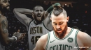 Celtics' Aron Baynes has Grade 2 ankle sprain suffered from Sixers game