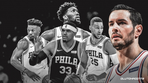 JJ Redick thinks Sixers starting unit still has work to do ahead of playoffs