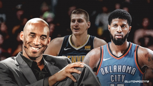 Kobe Bryant challenges Nuggets' Nikola Jokic to win MVP, Thunder's Paul George for DPOY