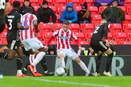 I've got your back Bruno tells Stoke City young star