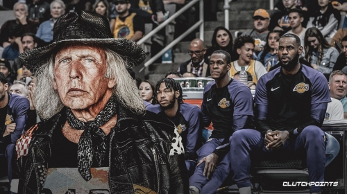 James Goldstein reveling in Lakers' struggles despite being a courtside fixture