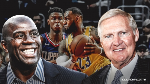 Jerry West vs. Magic Johnson mash-up shows stark difference of Clippers vs. Lakers front office
