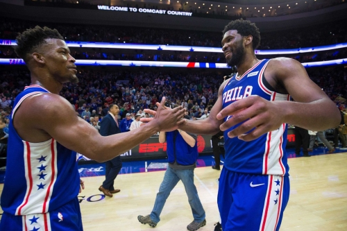 Let's all appreciate the two superstar plays in the Sixers' win over the Celtics
