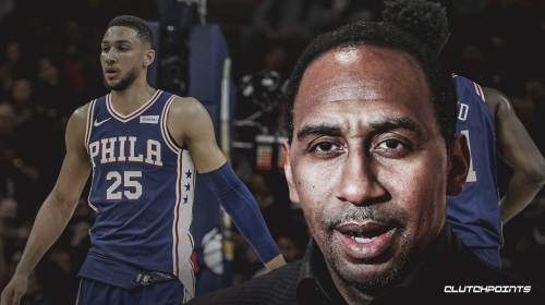 Stephen A. Smith says Ben Simmons is costing Philly a championship