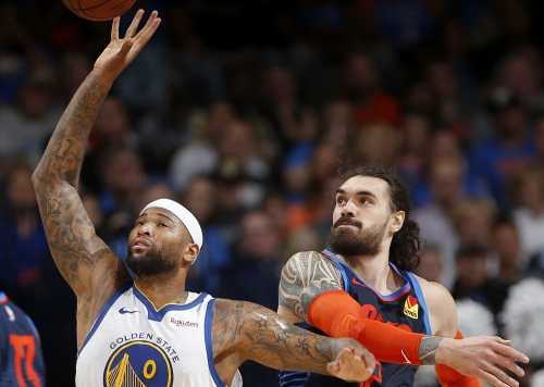Warriors offer encouraging news about DeMarcus Cousins' health