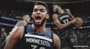 Karl-Anthony Towns is playing through knee soreness