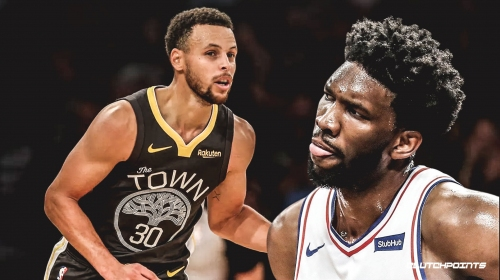 Joel Embiid tells Stephen Curry he wants a new nickname