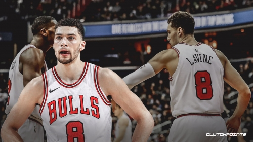 Bulls' Zach LaVine says he has never seen a tough shot