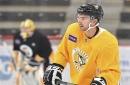 Penguins forward Adam Johnson hoping for fast start in NHL debut