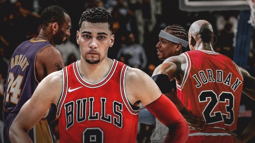 Zach LaVine names Michael Jordan, Kobe Bryant, Allen Iverson among favorite tough shotmakers