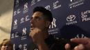 New Yankees lefty Gio Gonzalez talks after his first bullpen session since signing