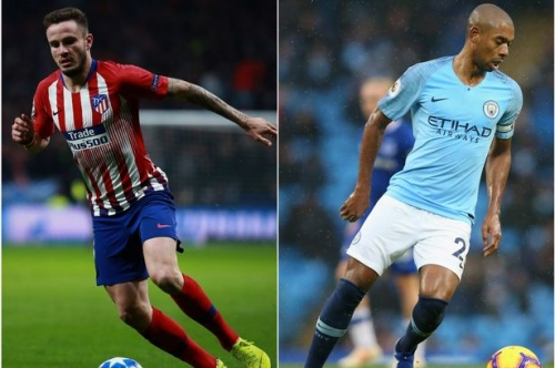 Saul Niguez vs Fernandinho - how Man City's present and possible future compare