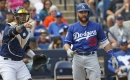 Brewers rough up Dodgers relievers in win