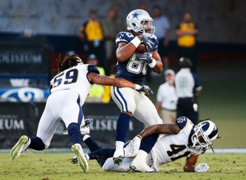 10 things you might not know about Cowboys TE Rico Gathers, including the time he demolished someone via a chest bump