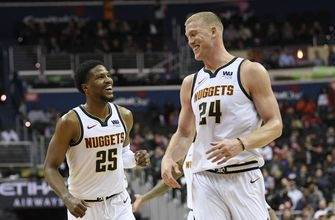 Jokic leads balanced Nuggets effort in 113-108 win over Wiz