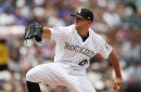 """Rockies manager Bud Black likes that starting pitcher Tyler Anderson can """"change speeds"""""""