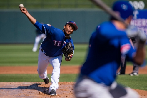 Rangers manager Chris Woodward reveals starting rotation order
