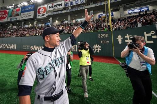 Major Link Soccer: Ichiro retires
