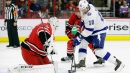 Hurricanes coach Rod Brind'Amour on the Lightning: 'They're too good'