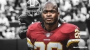 Redskins RB Adrian Peterson thinks he should have had '1,500, 1,600 yards' in 2018