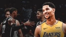 Lakers' Josh Hart out vs. Nets with sore knee