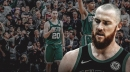 Aron Baynes' MRI more positive than expected, could still play for Celtics vs. Spurs