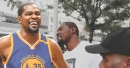 Old clip of Kevin Durant saying he will 'never' join Knicks goes viral
