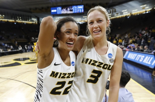 Mizzou women advance with overtime win against Drake