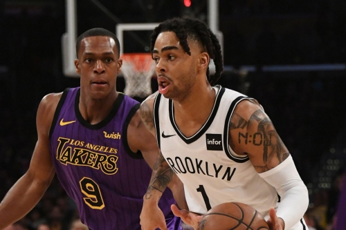 Poetic: DLo, Nets knock Lakers out of playoff contention with 111-106 victory in L.A.
