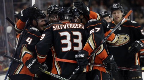 Ducks down Sharks as Silfverberg wins it in OT