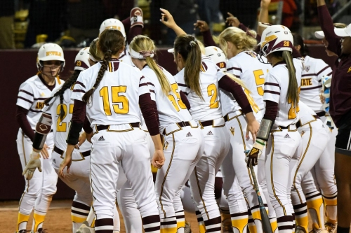 ASU Softball: 18th-ranked Sun Devils set off fireworks with the bats against Utah