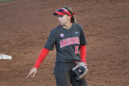 Arizona softball run-rules Oregon State behind Jessie Harper's homers