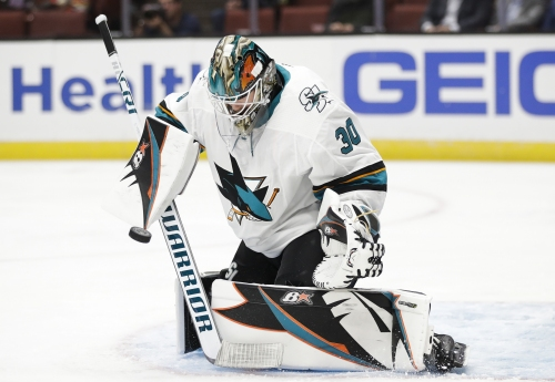 Takeaways: DeBoer speaks honestly about the Sharks goaltending issues