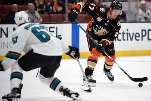 PODCAST: Ducks vs. Sharks, Rakell's Two Goal Night, Eaves and Kesler Update