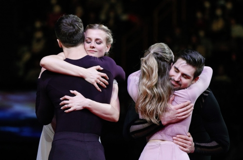 Papadakis and Cizeron win ice dance gold medal at worlds