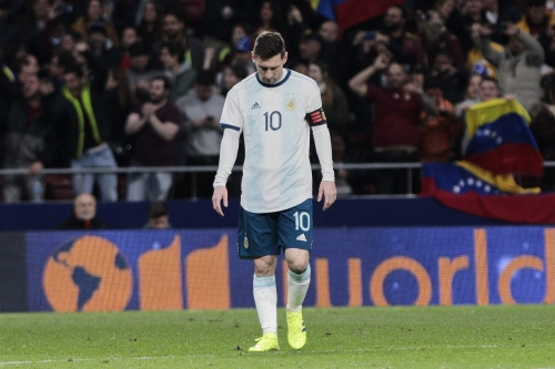 Barcelona provide Lionel Messi update after injury in Argentina's defeat to Venezuela