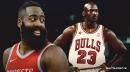 Rockets' James Harden ties Michael Jordan with eight 50-point games in a single season