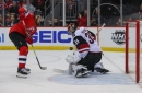Arizona Coyotes lose to New Jersey Devils in shootout, but pick up point in playoff push