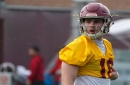 USC QB JT Daniels looking to lead more as a sophomore