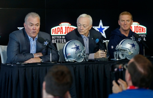 'You're overpaying in free agency most of the time': Stephen Jones shares thought behind Cowboys' quiet offseason approach