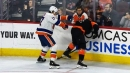 Couturier enraged after Martin's hit from behind goes uncalled