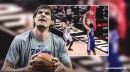 Video: Sixers' Boban Marjanovic surprises Hawks with first career 3-pointer