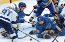 Blues beat the best with win against Lightning
