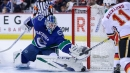 Canucks taken to school by Flames as playoff hopes keep slipping