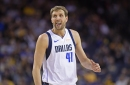 Inside Dirk Nowitzki's final game at Oracle Arena