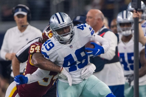 The Pros and Cons of the Cowboys re-signing Jamize Olawale