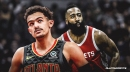 Hawks' Trae Young, Rockets' James Harden named NBA Players of the Week